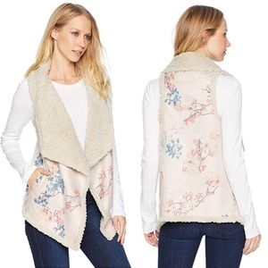 BB DAKOTA Floral Reversible Groundbreaker Vest